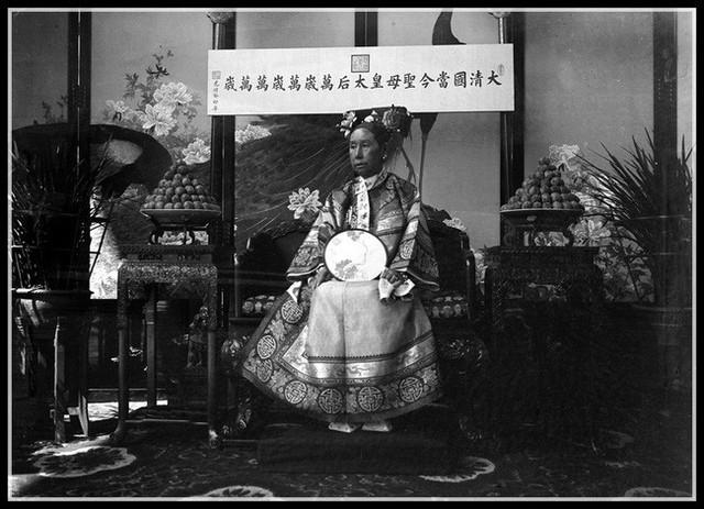Từ Hi Thái Hậu. (Tranh ảnh tư liệu lịch sử Trung Quốc)