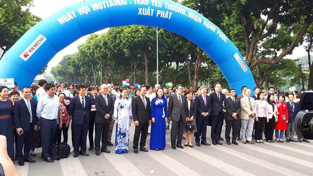 Các đại biểu tham gia tại ngày hội Mottainai 2018. Ảnh PT