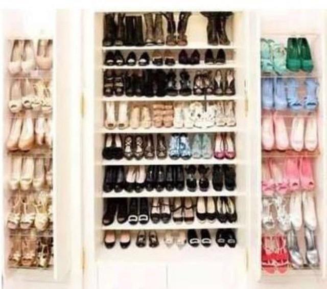 Phạm Băng Băng thiết kế hẳn căn phòng để trưng bày bộ sưu tập giày dép.