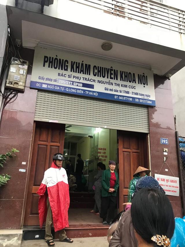 Công an đã niêm phong phòng khám này, Sở Y tế đã đình chỉ hoạt động phòng khám.