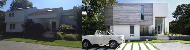 5. Khi Clay và Margot Coffey, cặp vợ chồng sở hữu công ty kiến trúc Isaac-Rae mua lại ngôi nhà gần bãi biển tại Watermill - một ấp của Southampton vào năm 1987. Qua nhiều năm với những cải tạo đáng kể khung và cấu trúc của ngôi nhà đã hoàn toàn khác biệt với phong cách hiện đại và thoải mái hơn.