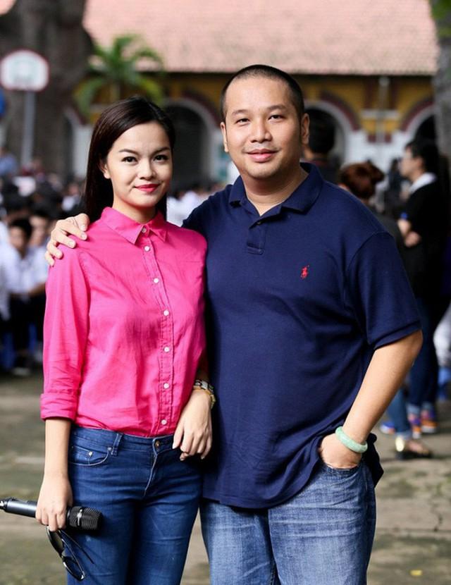 Quang Huy và Quỳnh Anh khi còn hạnh phúc.