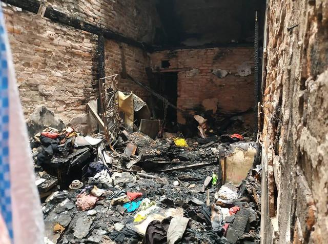 Ngôi nhà nơi xảy ra vụ phóng hỏa, khiến bé trai 6 tuổi tử vong.