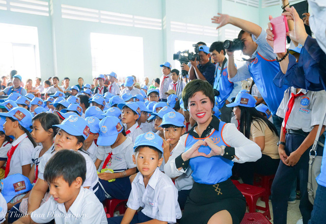 """""""Tham gia các các công tác vì cộng đồng là niềm đam mê mãnh liệt của bà Nguyễn Thị Thanh Tú"""""""