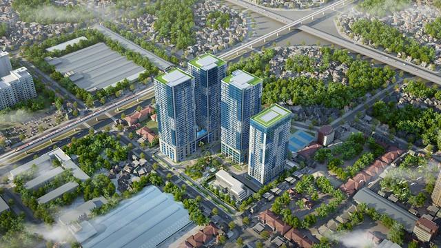 """TNR GoldSeason là một trong những dự án """"hot"""" của quận Thanh Xuân nhờ nằm ở trung tâm kinh tế Cầu Giấy – Thanh Xuân – Hà Đông"""