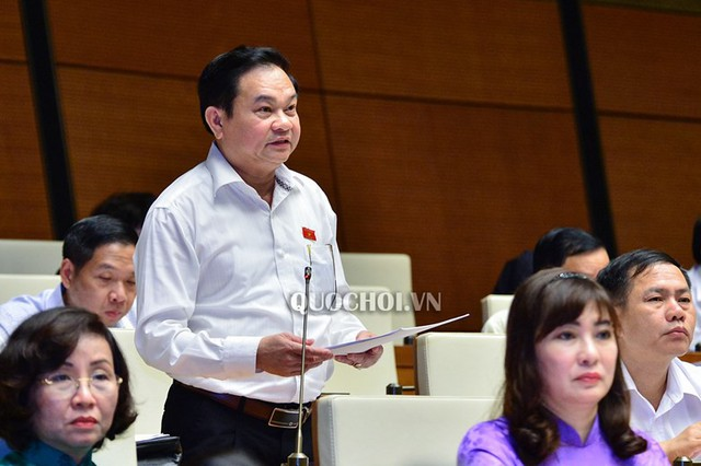 Đại biểu Nguyễn Văn Sơn đề nghị dừng dự án mỏ sắt Thạch Khê (Hà Tĩnh).