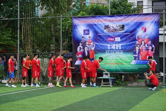 Trận đấu đã quyên góp được hơn 28 triệu đồng cho bé Hồng Phương