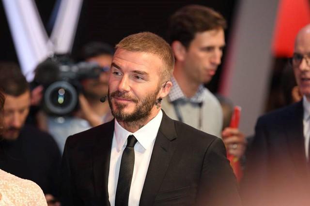 David Beckham là ngôi sao nước ngoài quen thuộc đối với công chúng Việt Nam. Ảnh: Vinfast.