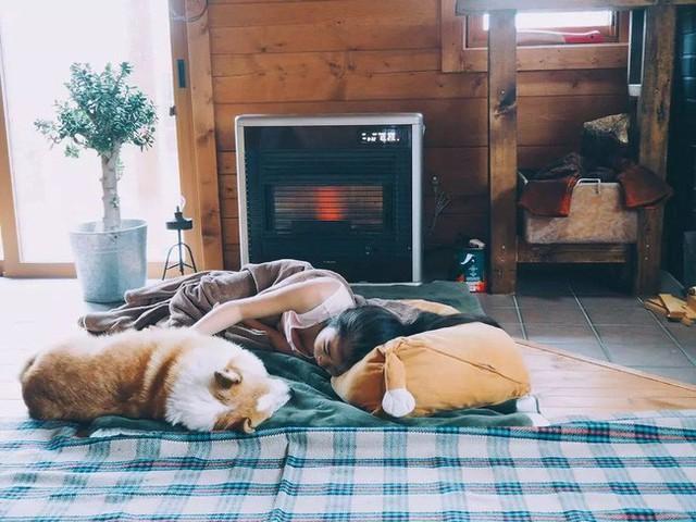 Ngôi nhà ấm áp tình thân.