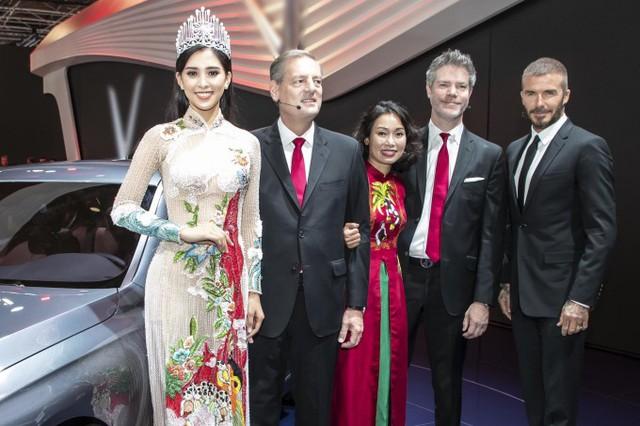 Chuyến công tác ở Pháp lần này với Hoa hậu còn là dịp học hỏi, làm quen với môi trường quốc tế, chuẩn bị cho cuộc thi Miss World 2018 .