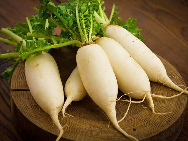 Củ cải trắng từng được ví von giống như nhân sâm trắng.
