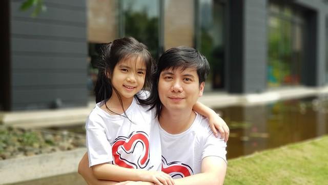 Anh Long và con gái đều mang nhóm máu hiếm. Ảnh: NVCC,