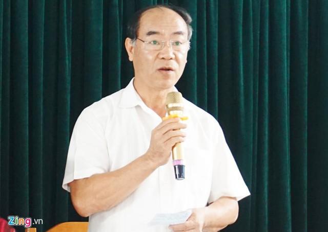 Ông Nguyễn Huy Bằng - Chánh Thanh tra Bộ GD&ĐT. Ảnh: Q.Q.