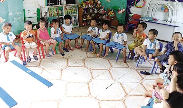 Mất cân bằng giới tính khi sinh thể hiện ở tỷ lệ các bé trai/bé gái tại các trường học. Ảnh:TL
