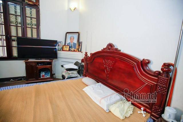 Căn phòng ngủ của nguyên Tổng bí thư