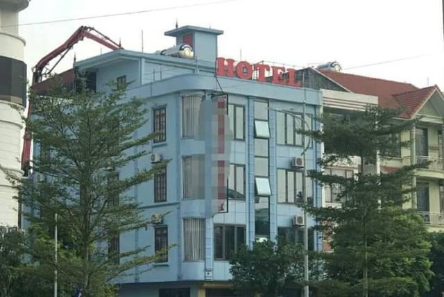 Khách sạn, nơi nữ sinh M. bị các đối tượng xâm hại tập thể. Ảnh: Hữu Thắng