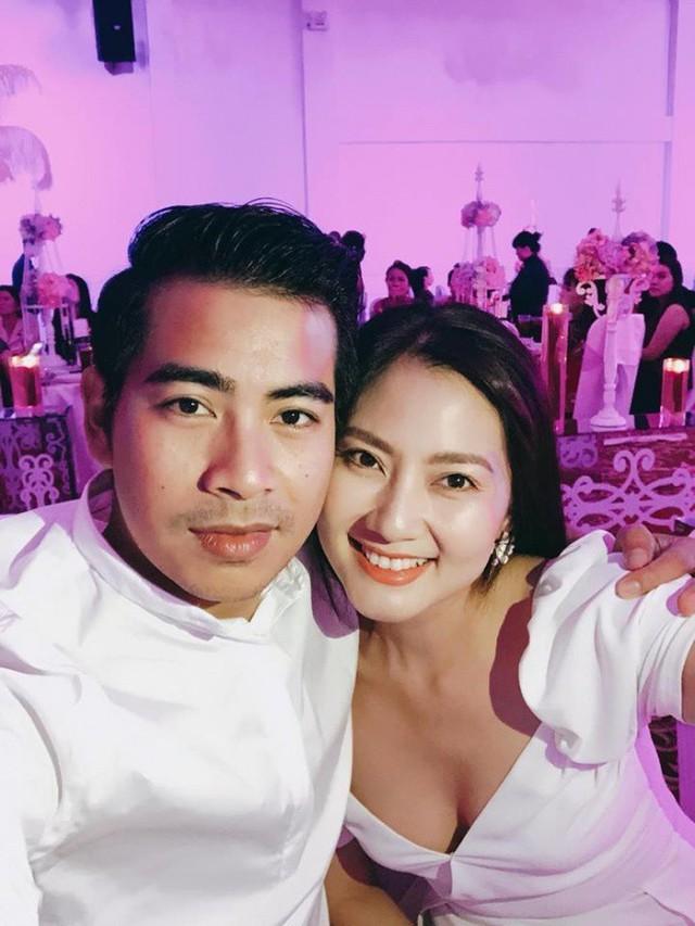 Ngọc Lan là khách mời nghệ sỹ hiếm hoi trong đám cưới bí mật của Dương Hoàng Anh