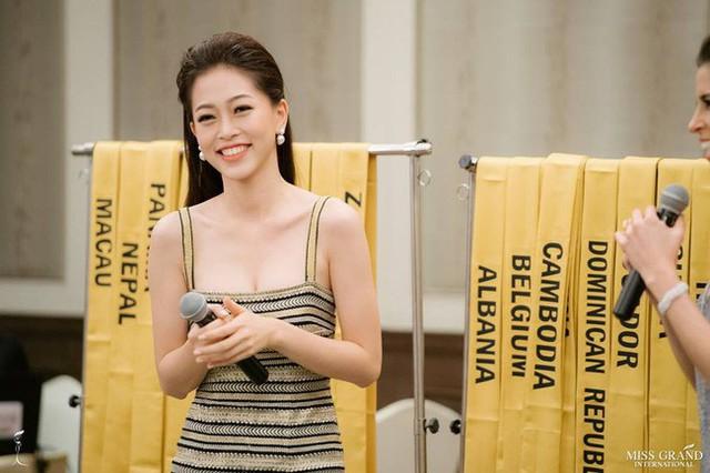 Phương Nga được kỳ vọng sẽ làm nên chuyện tại Miss Grand International 2018.