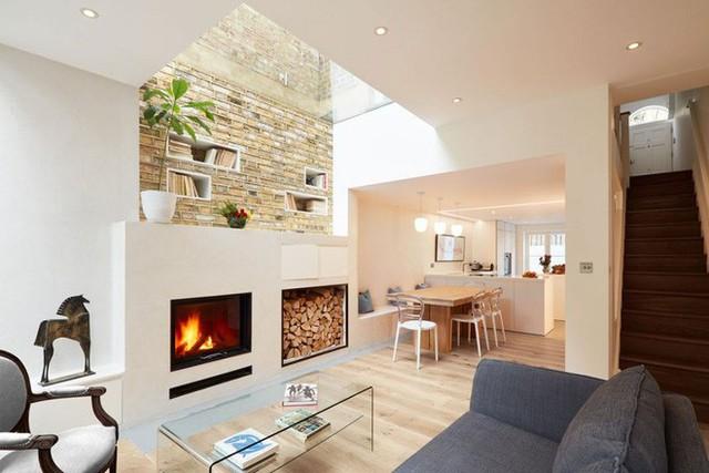 Thiết kế giếng trời cũng rất thích hợp với những gia đình có diện tích nhỏ hẹp đặc biệt các nhà ở trong ngõ không sát mặt đường.