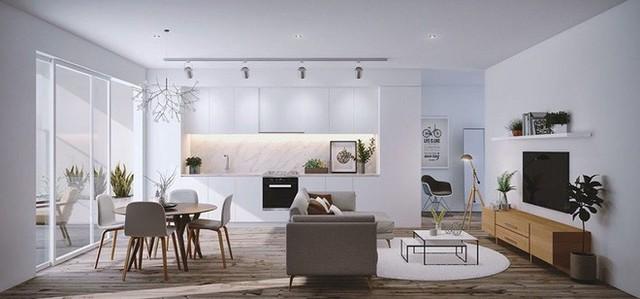 Không gian sinh hoạt chung của gia đình trở nên thân thiện hơn nhiều khi những không gian này được đặt cạnh nhau.