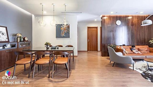 Theo KTS, vật liệu gỗ không quyết định tuổi tác của căn hộ.