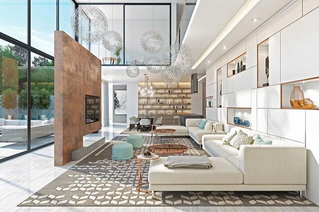 Đôi khi, thiết kế không gian mở không chỉ dành cho những gia đình có diện tích chật hẹp.