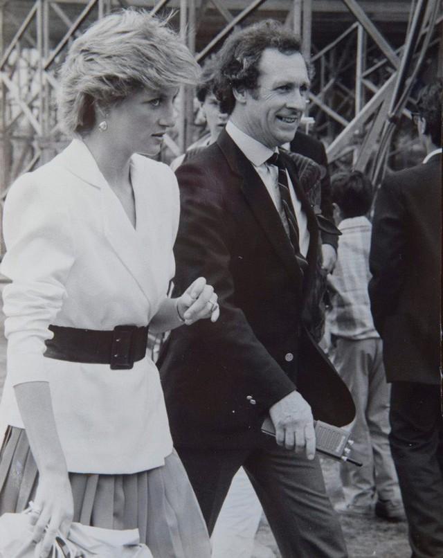 Ông Colin là tài xế trung thành của Công nương Diana.