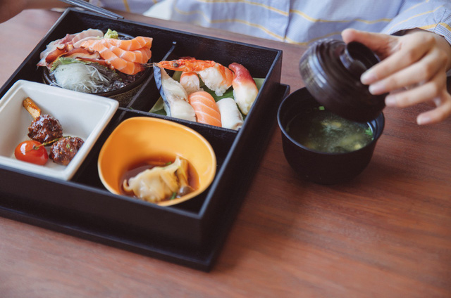 Phá vỡ sự đơn điệu, menu Set Lunch của Morico được cập nhật 6 tháng 1 lần tạo sự mới lạ.