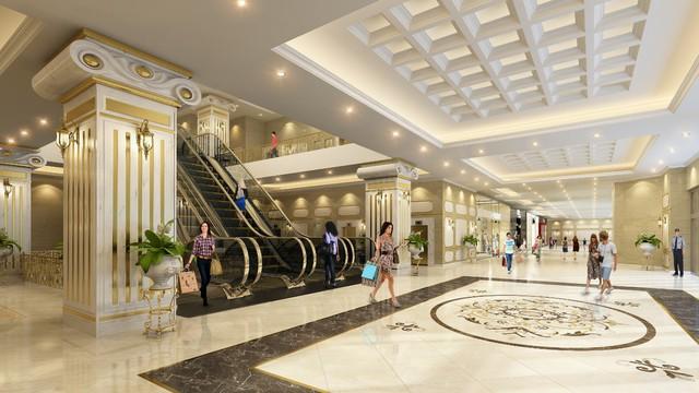 Hệ thống thang cuốn hiện đại phục vụ tối ưu nhu cầu di chuyển của con người và làm tôn lên vẻ đẹp đẳng cấp của D'. Le Roi Soleil.