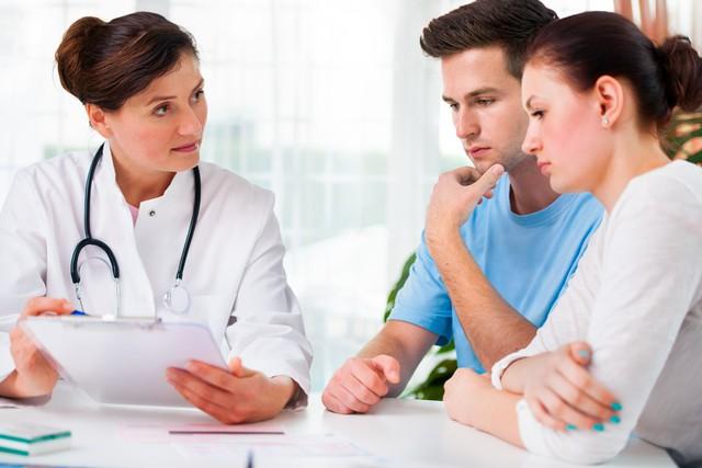 Khám sức khỏe tiền hôn nhân giúp dự phòng, sinh ra những đứa con khỏe mạnh. Ảnh TL