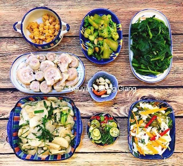 Hỏi về bí quyết nấu ăn ngon, chị Giang nói thêm: Mình thường xuyên thay đổi cách chế biến các món ăn khác nhau từ cùng một loại thực phẩm với các loại gia vị phù hợp tạo nên một món khác để đỡ ngán và bữa ăn sẽ đa dạng.