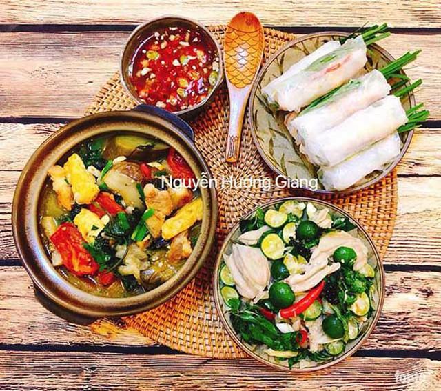 Đối với chị Giang, căn bếp là nơi để giải tỏa những áp lực, căng thẳng trong công việc chứ không phải là nơi bị ép buộc phải vào nấu ăn.