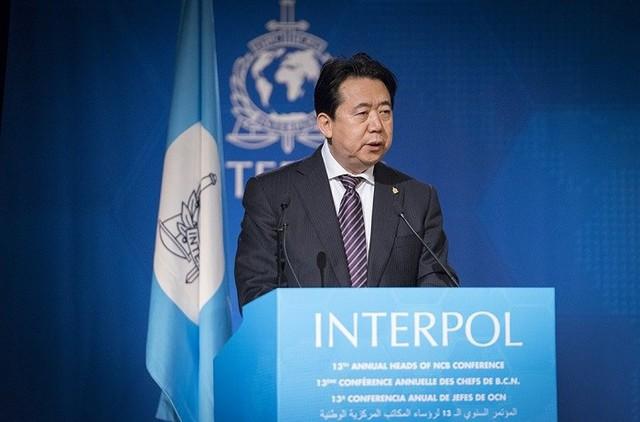Ông Meng Hongwei bị bắt giữ ngay khi xuống sân bay Trung Quốc .