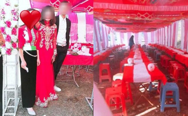 Cô dâu và chú rể trong ngày cưới