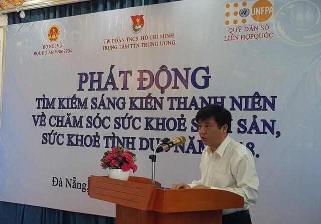 Ông Nguyễn Thanh Hảo – Giám đốc Trung tâm Thanh thiếu niên Trung ương