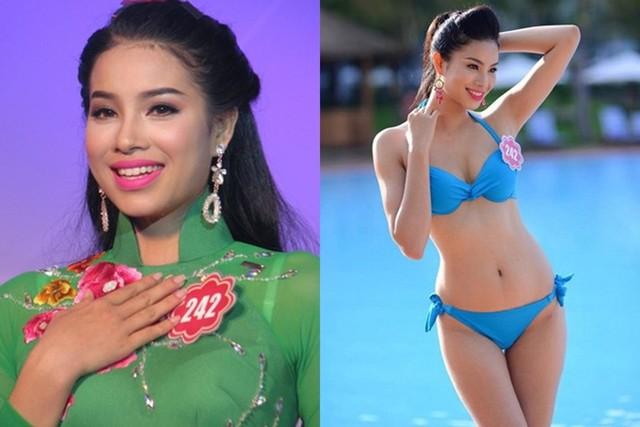 Năm 2014, người đẹp sinh năm 1991 tiếp tục ghi danh Hoa hậu Việt Nam và dừng chân ở top 10 chung cuộc.