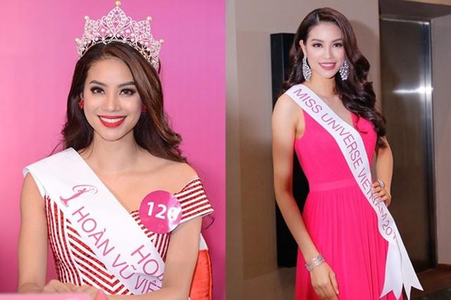 Năm 2015, ở độ tuổi 24, Phạm Hương quyết định chinh chiến nhan sắc lần cuối với Hoa hậu Hoàn vũ Việt Nam. Với sắc vóc và sự thể hiện nổi bật, cô giành chiến thắng thuyết phục, trở thành gương mặt được đông đảo khán giả Việt Nam yêu mến.