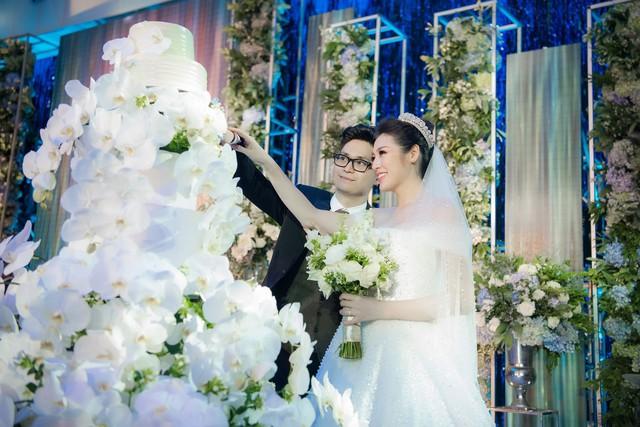 Đám cưới của Tú Anh và ông xã diễn ra vào ngày 21/7 vừa qua.
