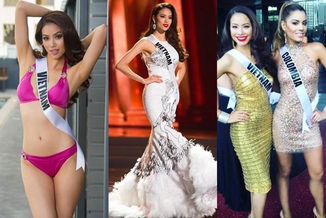 Hai tháng sau đăng quang, Phạm Hương lên đường sang Las Vegas, Mỹ dự thi Miss Universe. Cô được các chuyên trang sắc đẹp đánh giá cao từ đầu cuộc thi, khiến khán giả chờ đợi một thành tích nổi bật của Việt Nam tại sân chơi này. Dù quyết tâm hết mình, Phạm Hương không thể lọt vào top 15 trong sự tiếc nuối của khán giả. Tuy nhiên, cô vẫn được người hâm mộ dành tặng danh hiệu Hoa hậu quốc dân.