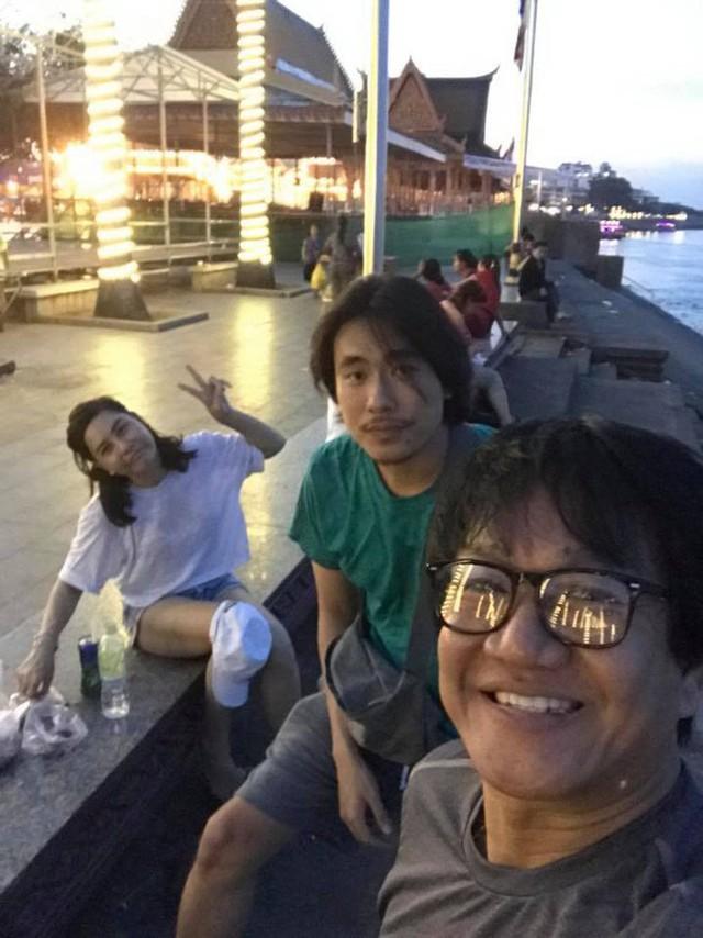 Loạt ảnh mới trong chuyến du lịch Campuchia cùng Kiều Minh Tuấn được Cát Phượng chia sẻ trên trang cá nhân