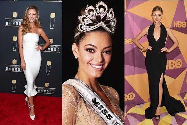 Miss Universe có sự thay đổi liên tục về vương miện những năm gần đây. Năm 2017, người đẹp Demi‑Leigh Nel‑Peters được trao vương miện Mikimoto có hình tượng chim phượng hoàng, trị giá 250.000 USD (hơn 5,8 tỷ đồng). Tuy nhiên, cô hiếm khi đội vương miện này khi tham gia các sự kiện. Chiếc vương miện này được sử dụng từ 2002-2007 rồi đến 2017 mới xuất hiện trở lại.
