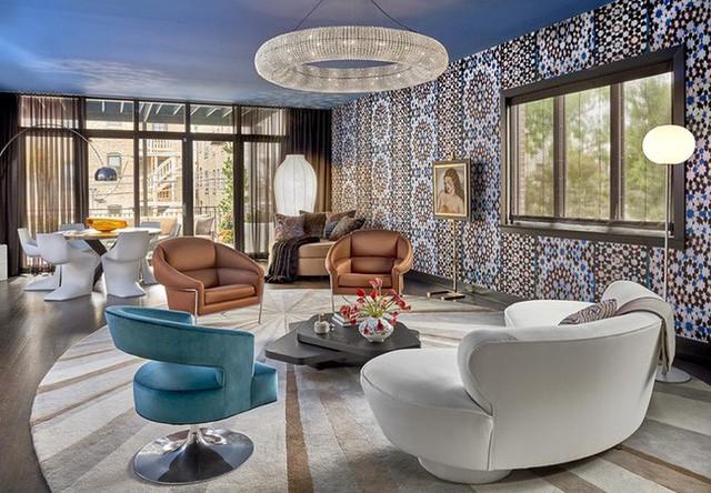 Vẻ đẹp lạ mắt, kiểu thiết kế sáng tạo cũng là lý do tạo ra sức hút riêng cho mẫu ghế sofa cong.