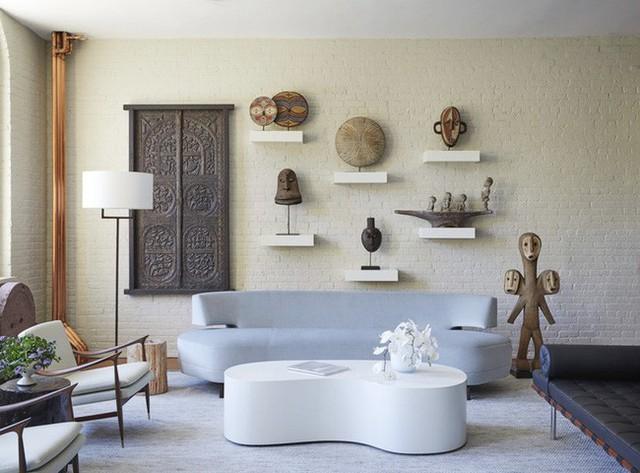 Mẫu ghế sofa cong mang vẻ đẹp hiện đại nổi bật hơn nhiều kiểu ghế sofa truyền thống.