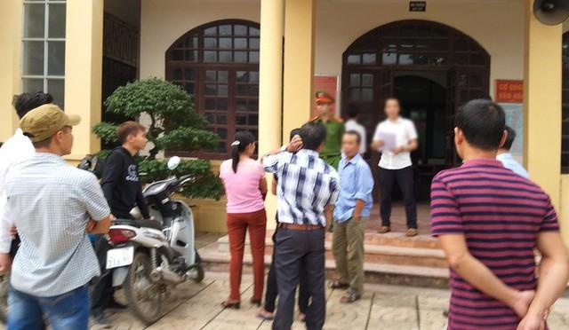 Tòa án nhân dân huyện Quốc Oai mở phiên tòa sơ thẩm