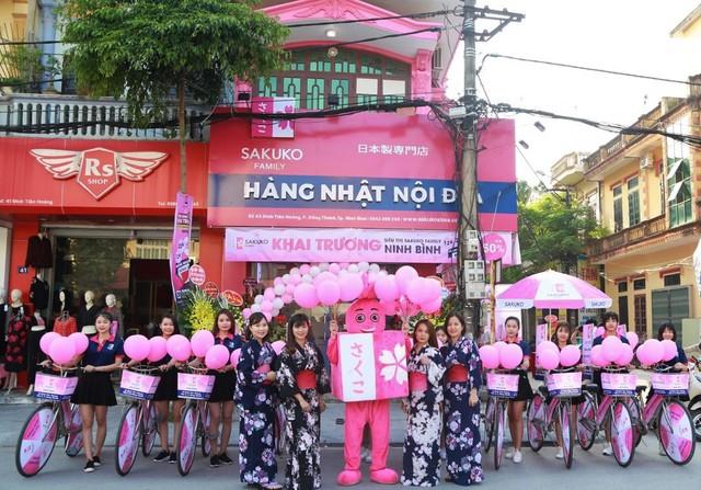 Sakuko Family Ninh Bình – siêu thị thứ ba trong hệ thống Sakuko Familytrên toàn quốc