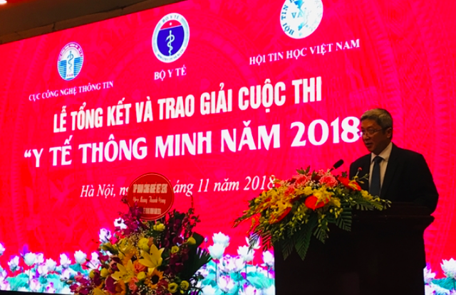 Thứ trưởng Bộ Y tế Nguyễn Trường Sơn phát biểu