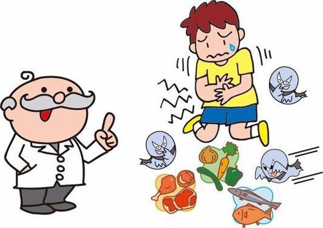 Trẻ nhỏ dễ bị ngộ độc thực phẩm do hệ tiêu hóa còn yếu, dễ bị vi khuẩn tấn công. Ảnh minh họa