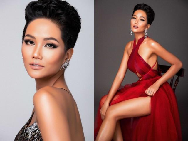 HHen Niê là đại diện Việt Nam tham dự Miss Universe 2018. So với nhiều đàn chị trước đó, HHen sở hữu ngoại hình khác biệt với làn da nâu, mái tóc tém cá tính. Người đẹp mong muốn hình ảnh này sẽ tạo điểm nhấn thu hút khi xuất hiện tại cuộc thi diễn ra vào tháng 12 ở Thái Lan.