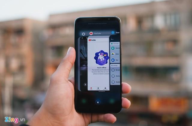 Cảnh chuyển ảnh hưởng đến cảm nhận của người dùng về tốc độ của smartphone.