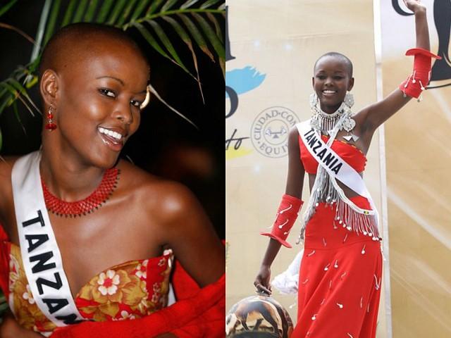 Đại diện đầu trọc duy nhất của Tanazania giành giải cao là Flaviana Matata. Cô xếp vị trí thứ 7 trong đêm chung kết Miss Universe 2007 tổ chức ở Mexico.